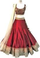 Bk Fashion Chaniya, Ghagra Cholis - BK FASHION Embroidered Women's Lehenga, Choli and Dupatta Set(Stitched)