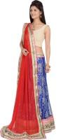 Gettogethercreation Chaniya, Ghagra Cholis - GetTogetherCreation Embroidered Women's Lehenga, Choli and Dupatta Set(Stitched)