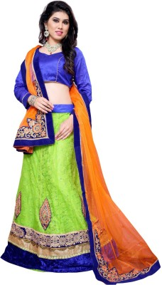 Aasvaa Self Design Womens Lehenga Choli