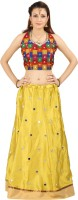 Saianna Style Studio Chaniya, Ghagra Cholis - Saianna Style Studio Self Design Women's Lehenga Choli(Stitched)