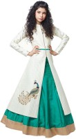 Wow Sales Chaniya, Ghagra Cholis - WOW Sales Embroidered Women's Lehenga, Choli and Dupatta Set(Stitched)
