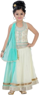 Be 13 Self Design Girl's Lehenga Choli