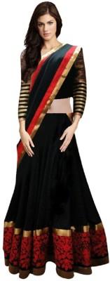 Moni Fashion Self Design Women's Lehenga, Choli and Dupatta Set