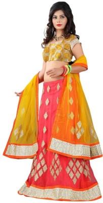 Ethnic Era Self Design Women's Ghagra, Choli, Dupatta Set