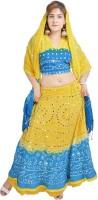 Chaniya, Ghagra Cholis - Pezzava Printed Women's Lehenga Choli(Stitched)