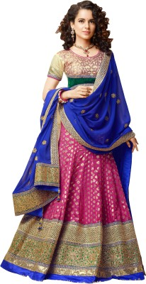 Florence Self Design Womens Lehenga Choli(Stitched)