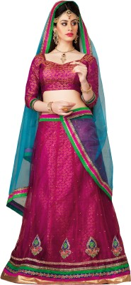 Desi Look Self Design Women,s Lehenga Choli