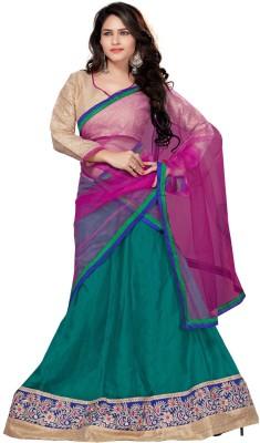 Youth Mantra Embroidered Women,s Lehenga, Choli and Dupatta Set