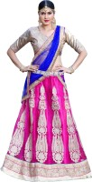 Triveni Chaniya, Ghagra Cholis - Triveni Self Design Women's Lehenga, Choli and Dupatta Set(Stitched)
