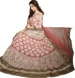 VISE Embroidered Women's Lehenga, Choli ...