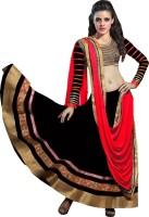Fashion Surat Chaniya, Ghagra Cholis - Fashion Surat Self Design Women's Ghagra, Choli, Dupatta Set(Stitched)