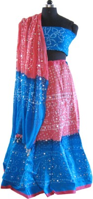 Style Shells Printed Women's Lehenga, Choli and Dupatta Set