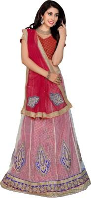 Parisha Embroidered Women's Lehenga, Choli and Dupatta Set