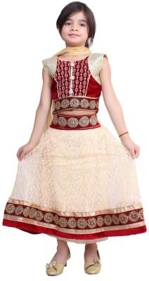 Chutki Embroidered Girl,s Lehenga Choli