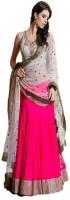 Honestimpex Chaniya, Ghagra Cholis - HONESTIMPEX Embroidered Women's Lehenga, Choli and Dupatta Set(Stitched)