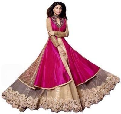 fashion bazar Self Design Women,s Lehenga Choli