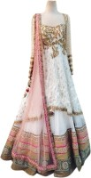 Helix Enterprise Chaniya, Ghagra Cholis - Helix Enterprise Embroidered Women's Lehenga Choli(Stitched)