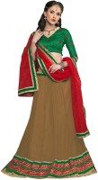 Trendz Apparels Women's Clothing - Trendz Apparels Embroidered Women's Lehenga, Choli and Dupatta Set(Stitched)