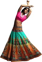 Fashion Galleria Chaniya, Ghagra Cholis - Fashion Galleria Printed Women's Lehenga Choli(Stitched)