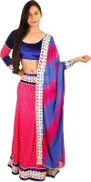Vfa Chaniya, Ghagra Cholis - VFA Solid Women's Ghagra, Choli, Dupatta Set(Stitched)