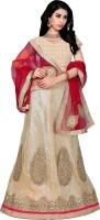 Manthan Chaniya, Ghagra Cholis - Manthan Embroidered Women's Lehenga, Choli and Dupatta Set(Stitched)