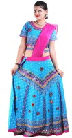 Rtd Chaniya, Ghagra Cholis - RTD Printed Women's Lehenga, Choli and Dupatta Set(Stitched)