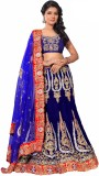BOMBAY VELVAT FAB Embroidered Women's Le...