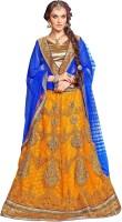 Ganga Fashion Chaniya, Ghagra Cholis - Ganga Fashion Embroidered Women's Lehenga, Choli and Dupatta Set(Stitched)