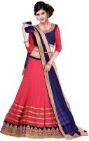 Fashionatics Chaniya, Ghagra Cholis - Fashionatics Embroidered Women's Lehenga, Choli and Dupatta Set(Stitched)