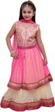 Ishika Garments Girls Lehenga Choli Ethn...
