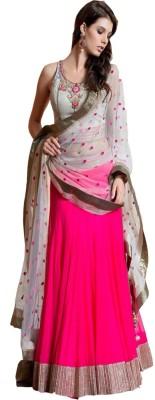Sapphire Retail Embroidered Women's Lehenga, Choli and Dupatta Set