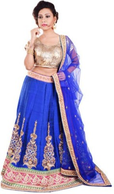 Ambika Embroidered Lehenga, Choli and Dupatta Set