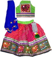 Aglare Chaniya, Ghagra Cholis - Aglare Embroidered Lehenga Choli
