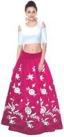 Z Fashion Chaniya, Ghagra Cholis - z fashion Embroidered crop top lehenga
