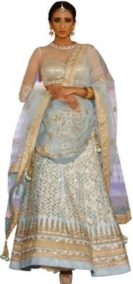Ambika Lahenga Embroidered Lehenga, Choli and Dupatta Set