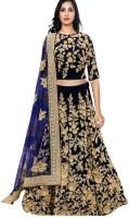 Colour Trendz Chaniya, Ghagra Cholis - Colour Trendz Embroidered Lehenga Choli