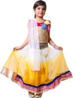 Tiny Toon Chaniya, Ghagra Cholis - Tiny Toon Embroidered Lehenga, Choli and Dupatta Set