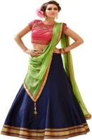 Renisha Fashion Chaniya, Ghagra Cholis - Renisha fashion Embroidered Anarkali Lehenga