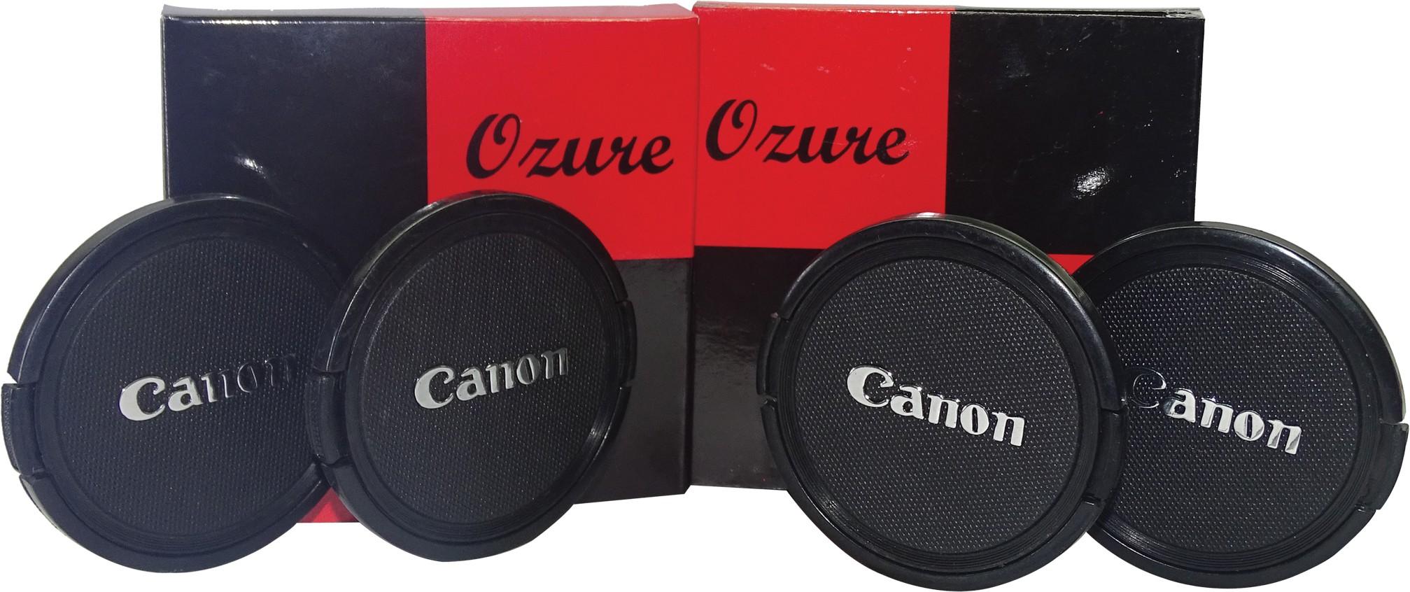 Ozure SECLCC67B  Lens Cap(Black + Silver Embossed, 67 mm)