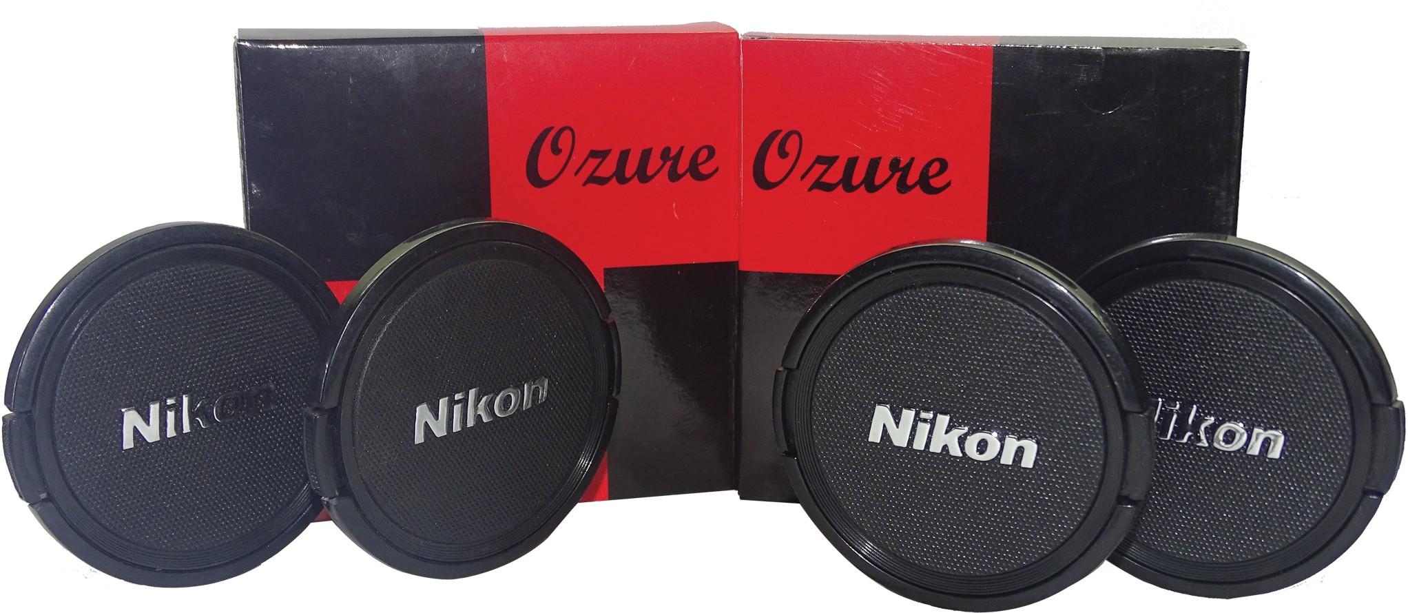 Ozure SECLCN67B  Lens Cap(Black + Silver Embossed, 67 mm)