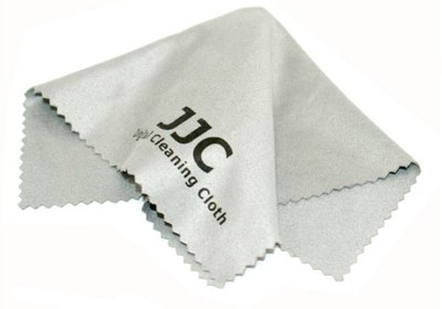 JJC Micro Fiber Lens Cloth CL-C1 Lens Cleaner(NA ml, 6.7 x 6.7 inch, Pack of 1)
