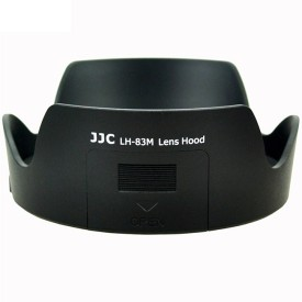 JJC LH-83M Lens Hood(77 mm, Black)