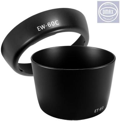 Omax EW-60c & ET-60 For Canon 18-55mm Lens & EW-60c & ET-60 55-250mm  Lens Hood