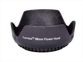 Numex FOR EOS 600D 650D 60D 55-250mm 18-55MM 58MM THREAD  Lens Hood
