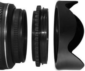 Axcess KF03-010 52mm Reversible Plastic Lens Hood