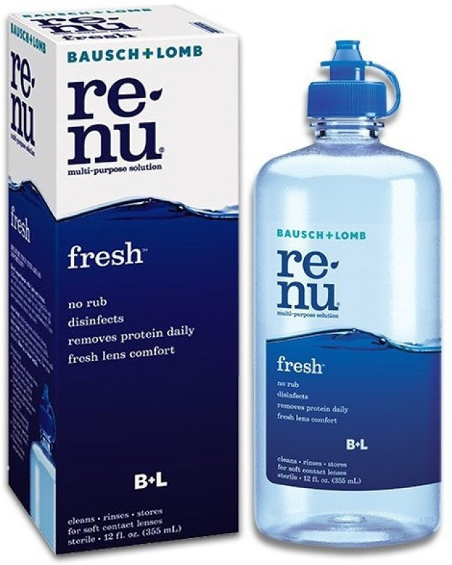 Renu Sensitive Eyes Multi Purpose Lens Solution(355 ml)
