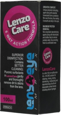 LenzoCare 6 Way Action formula 100ml. Multi-purpose Cleaning Solution(100 ml)