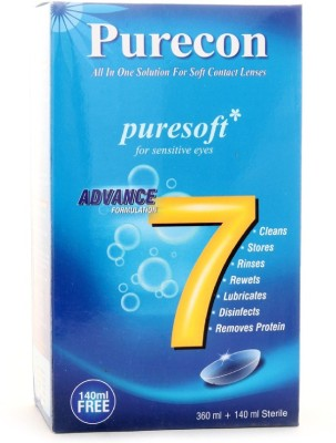 Purecon Puresoft Combo (360+140ml) Multi-purpose Cleaning Solution