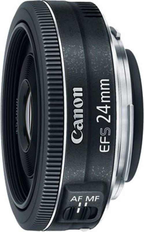 Canon EF-S 24 mm f/2.8 STM Lens(Black)