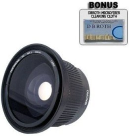 PLR 0.42X Hd Super Wide Angle Panoramic Macro Fisheye Lensfor The Canon Digital Asnkf-109 Lens